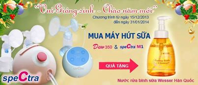 Vui giáng sinh – Chào năm mới với Spectra Baby Vietnam