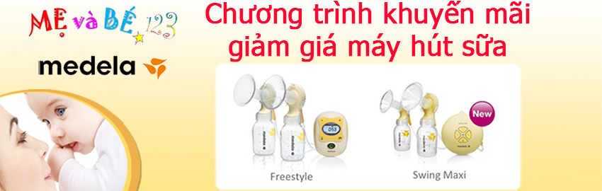 Chương trình khuyến mãi sản phẩm máy hút sữa Medela nhân ngày quốc khánh 2.9