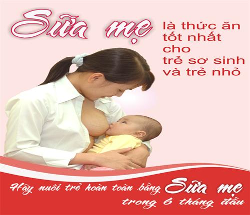 Sữa mẹ – vắc xin quý báu của loài người