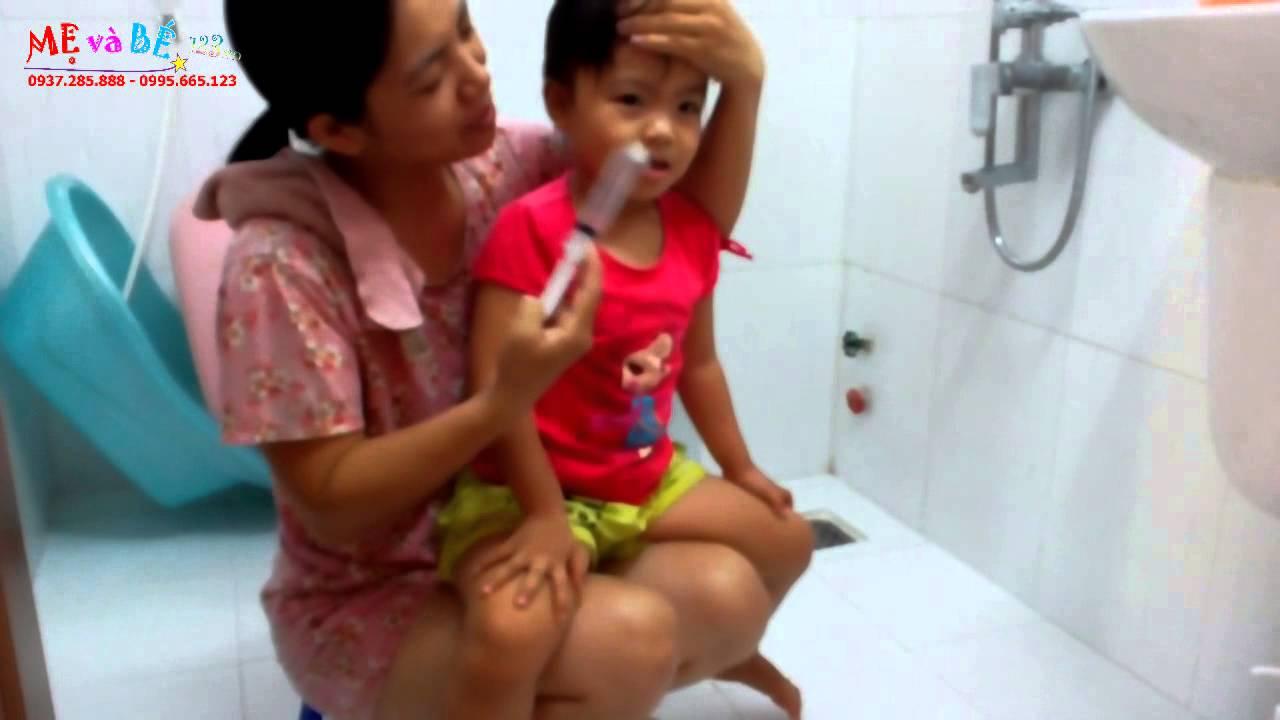 Hướng dẫn rửa mũi đúng cách để điều trị hiệu quả bệnh viêm mũi – How to clean your baby's nose