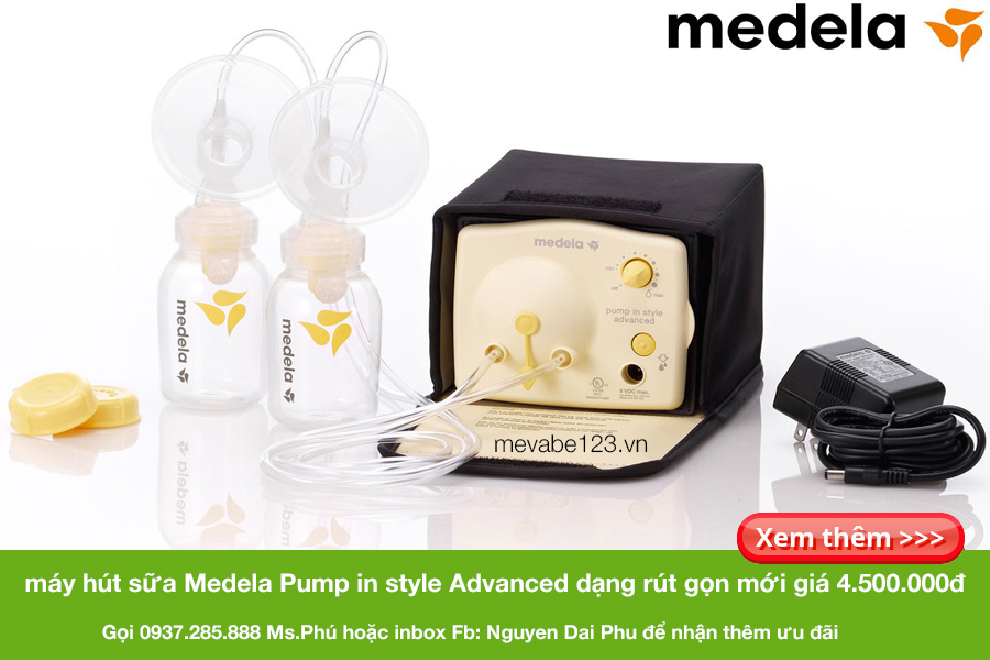 may hut sua medela pump rut gon (starter set) 4tr5